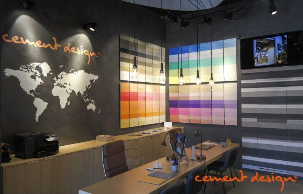 Cement Design Almeria showroom concept store