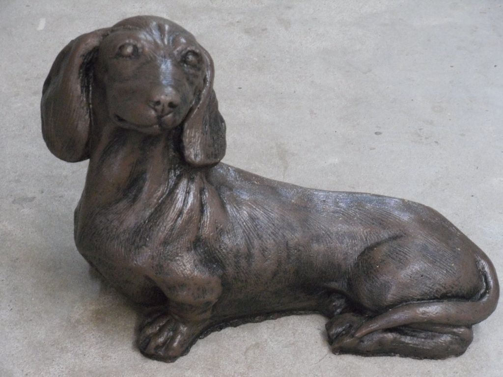 Dachshund Shown In Dark Brown Finish Archives