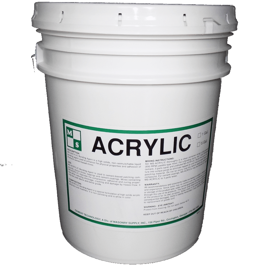 MS Acrylic bucket