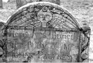 Winged skull photo by Loren Rhoads.