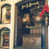 Antique urns, Neptune Society Columbarium