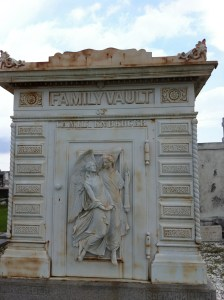 Cast-iron tomb