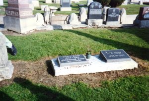 Wyatt Earp's second -- or third? -- headstone