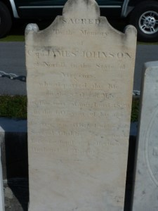 Capt. James Johnson, as photographed by Kathleen Rhoads.