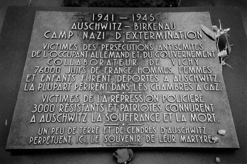 Auschwitz plaque copy
