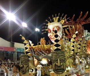 Abre-alas do Vai-Vai no Desfile das Campeãs (2017) - Foto de Cassius S. Abreu