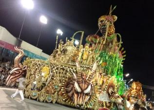 Segunda alegoria do Vai-Vai no Desfile das Campeãs (2017) - Foto de Cassius S. Abreu