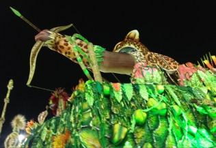 Detalhe da segunda alegoria do Vai-Vai no Desfile das Campeãs (2017) - Foto de Cassius S. Abreu