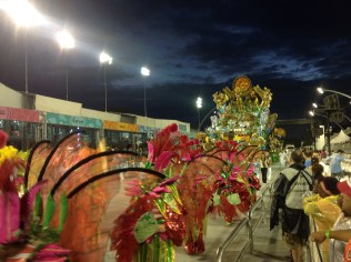Último setor do Tatuapé no Desfile das Campeãs (2017) - Foto de Cassius S. Abreu