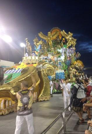Quinta alegoria do Tatuapé no Desfile das Campeãs (2017) - Foto de Cassius S. Abreu