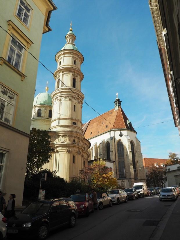 Graz, katedrála a mauzoleum Ferdinanda II.