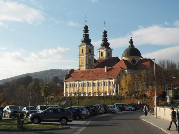 Graz, poutní místo Mariatrost