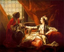 Charles André van Loo, Jeanne-Antoinette Poisson, markýza de Pompadour, 1747