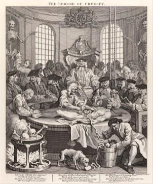William Hogarth, Čtyři fáze krutosti, 1751