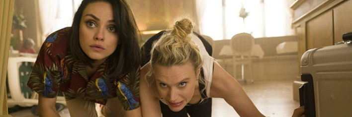 Mila Kunis e Kate McKinnon são as espiãs por acaso de Meu Ex É Espião (The Spy Who Dumped Me, 2018)