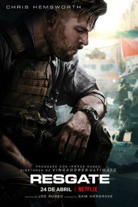 Poster de Resgate (2020) Netflix
