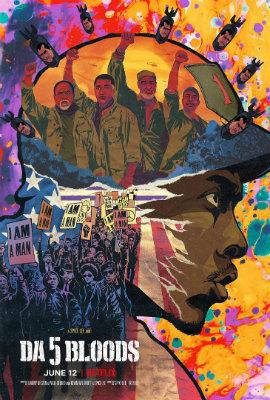 Poster de Destacamento Blood (Da 5 Bloods, Spike Lee, 2020)