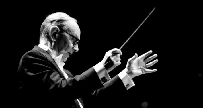 O maestro Ennio Morricone