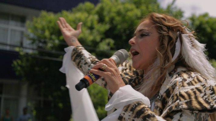 Daniela Mercury no documentário Axé: Canto do Povo de um Lugar