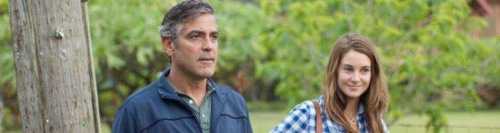 George Clooney é o pai em Os Descendentes