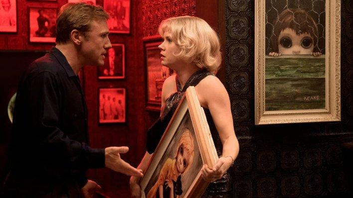 Christoph Waltz e Amy Adams em Grandes Olhos