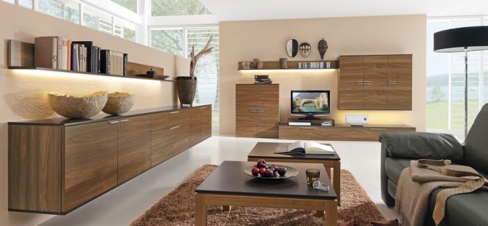 meuble salon bois la deco selon