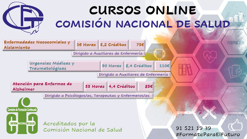 Folleto Cursos Acreditados CNS