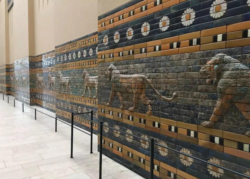 Aslanlı kapı - Berlin Pergamon Müzesi - Müzeler Adası - Berlin Gezilecek Yerler