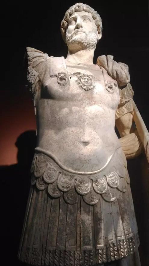 Ünlü Roma imparatorumuz Hadrian- M.S.130 - Thassos Arkeoloji Müzesi