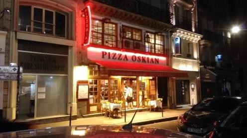Pizza Oskian Paris