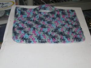 R's crochet bag
