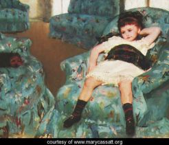 Little-Girl-in-a-Blue-Armchair,-1878