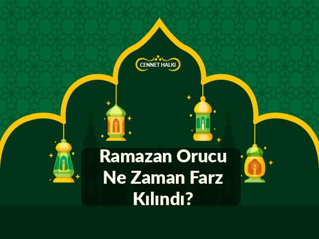 Oruç! Ramazan Orucu Ne Zaman Farz Kılındı?