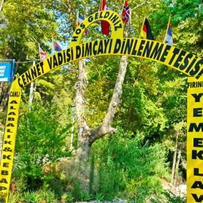Dimçayı Alanya Cennet Vadisi Restaurant Doğal Güzellikler (18)
