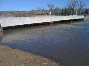 Qu'Appelle River 13th April 2011