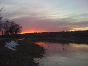 Qu'Appelle River Firesky