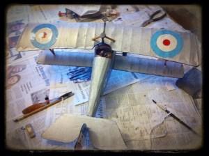 Nieuport 17 Painted