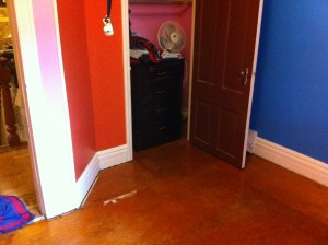 Seriously, why would you cover up this floor?