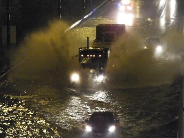 Flooded Expressway