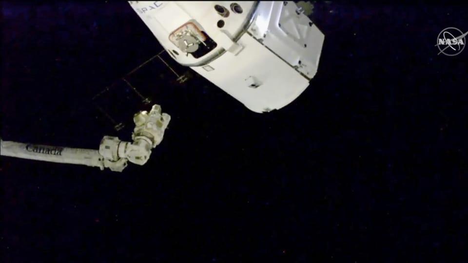 Le repas de Noël des astronautes de la station spatiale arrive à destination