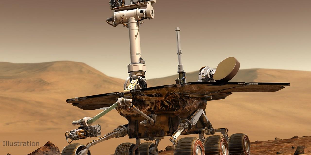 C'est la fin pour le robot martien Opportunity