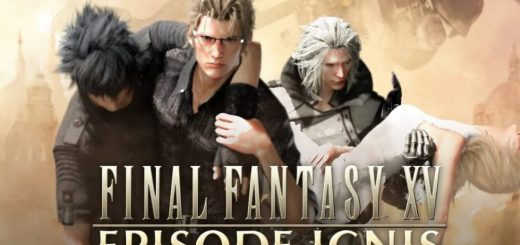 Final Fantasy XV: Episode Ignis Splash Screen