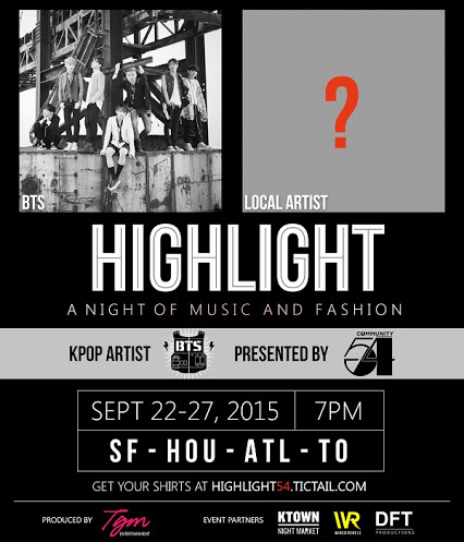 BTS Highlight Tour Poster