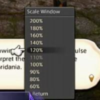 How To: Increase the Dialog Box in Final Fantasy XIV on PS4