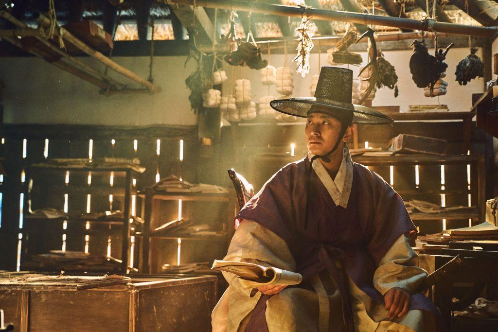 Crown Prince Lee Chang in promo screenshot for Kingdom Season 1