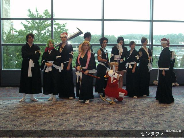 The Bleach photoshoot from Day 2, Anime Weekend Atlanta 15