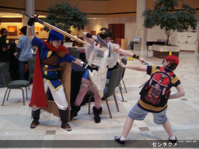 Cosplayers, Super Smash Brothers, 2009