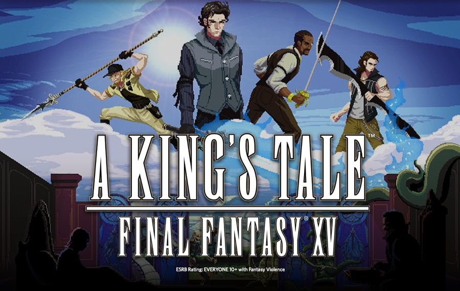 "Cover of ""A King's Tale: Final Fantasy XV"" game"