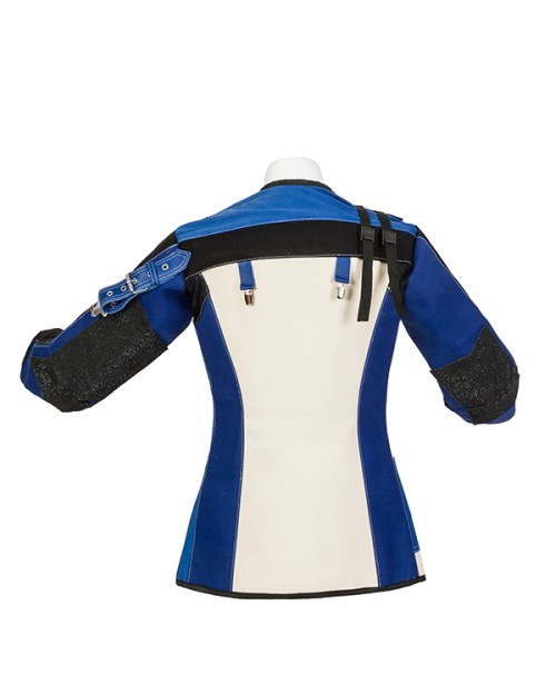 Centaur Economy Beginners Double Canvas Target Shooting Jacket - Back View
