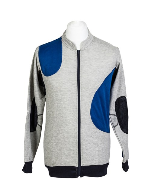 Padded target shooting jumper by Centaur Target Sports - Front view